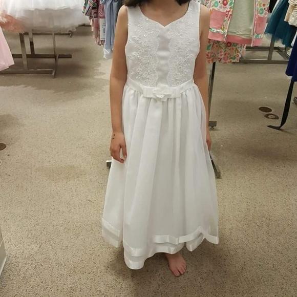 5ec659a17bb0 Bonnie Jean Other - Bonnie jean, Girls First Communion Dress Sz 8